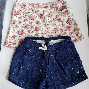 Girls 10 shorts bundle of Tommy Hilfiger/Kidpik